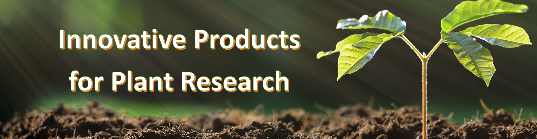 innovative producs for plant research